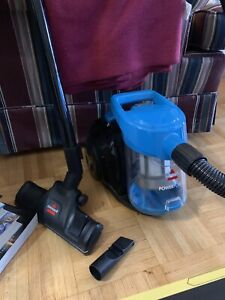 BISSELL POWER FORCE BAGLESS  CANISTER VACUUM
