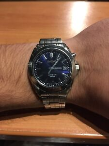 Seiko Kinetic watch with date