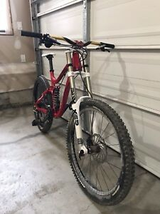 Norco truax downhill bike