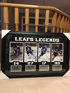 Toronto Maple Leafs Legends Art Print
