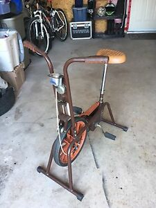 Supercycle stationary bicycle