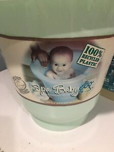 Spa Baby Eco: BPA free Infant Tub Made from 100% Recycled Plasti