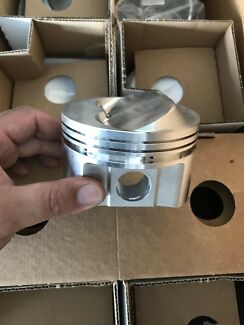 Brand new SRP forged pistons to suit Holden 308 / sbc 350