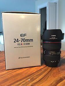 Lentille Canon 24-70 2.8L II USM