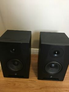 Yorkville YSM6 powered studio monitors