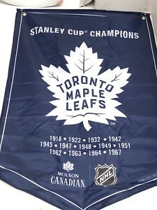 Molson/Coors Stanley Cup Banner/Flag