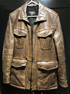 Designer Leather jacket with Thinsulate 42