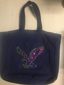 American Eagle Canvas Tote Bag