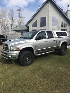 2005 Dodge Laramie 3500 with only 56000 K on new Diesel Motor