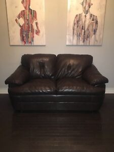 Love seat and chair, must sell immediately
