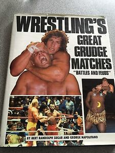 WWF worlds greatest grudge matches book