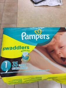 Pampers newborn diapers