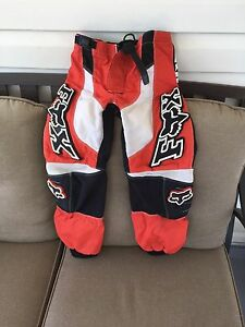 Kids Fox Racing riding pants