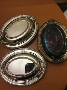 Silver Serving Dishes