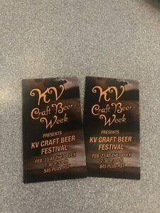 KV beer fest tickets