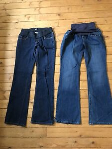 Maternity jeans size 6 - $5 for both