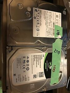Various hard drives new and used