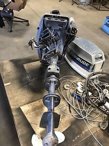 20hp Evinrude outboard motor