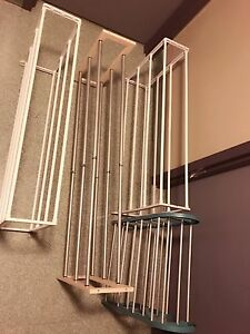 4 Different shoe racks