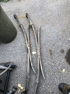 First gen Toyota Tacoma leaf springs