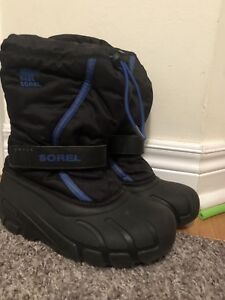 Sorel kids boots size 12 waterproof