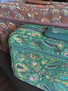 Vintage groovy suitcases