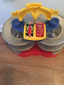 Cars 2 spiral Speedway World Grand Prix Lightning. AVAILABLE