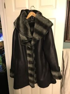 Mint condition women's winter coat high end obo