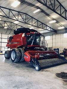 8120 Case Combine Can Delivery to Any where in SK., Ab., Man..