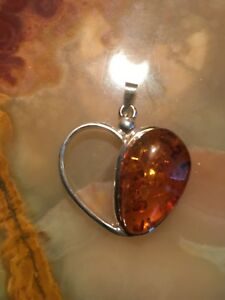 Genuine Baltic Amber Pendant