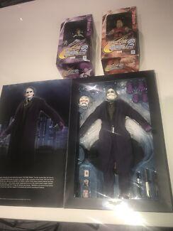 Collectors items the dark knight joker and capcom figures