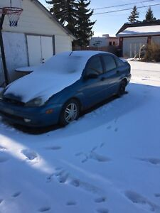 SOLD - 2001 Ford Focus SE (for PARTS only)