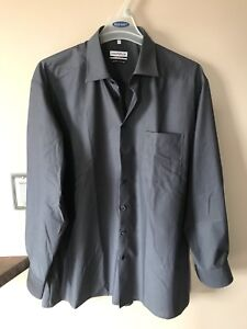 Dark grey dress shirt *new*
