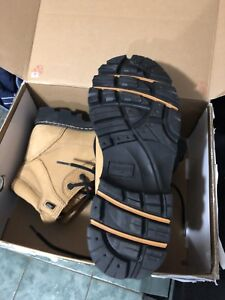 Royer work boots construction
