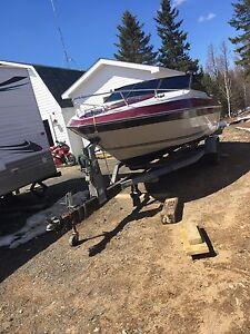 21 foot speed boat 4.3L