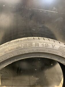 2x255/35R19 Continental Contisportcontact