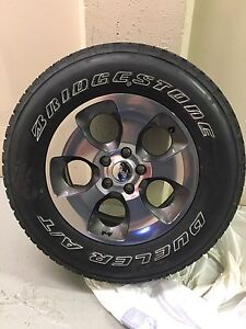5 new jeep tires