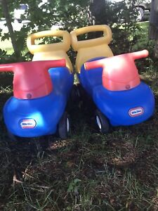 Little Tykes cars $15 for both