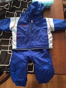 Columbia snow suit with pants. Size 12 mths