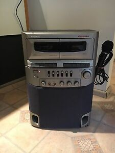 radio shack dual cassette karaoke system 5 band equalizer Mortlake Canada Bay Area Preview