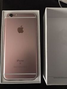 Unlocked Rose Gold iPhone 6s 64gigs