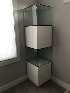 Two Glass Cabinets - Excellent Condition