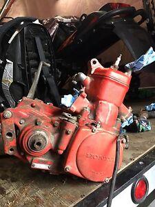Honda cr250R motor