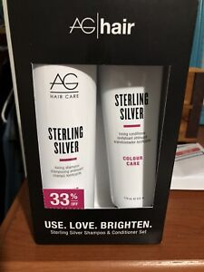 Sterling Silver shampoo & conditioner for blondes