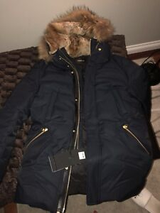 Mackage winter coat navy