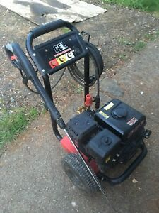3100 PSI Gas powered BE pressure washer