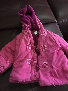 Fall/winter jacket and fleece suit 6-12 months