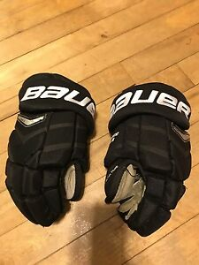 Bauer hockey gloves