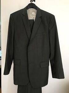 Forest green 3 piece suit, men's suit, pants, vest, jacket