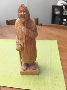 French Canadian wood carving